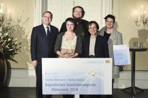 Bayerischer Innovationspreis Ehrenamt 2018